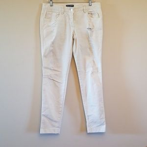 Dolce & Gabbana distressed white Jeans